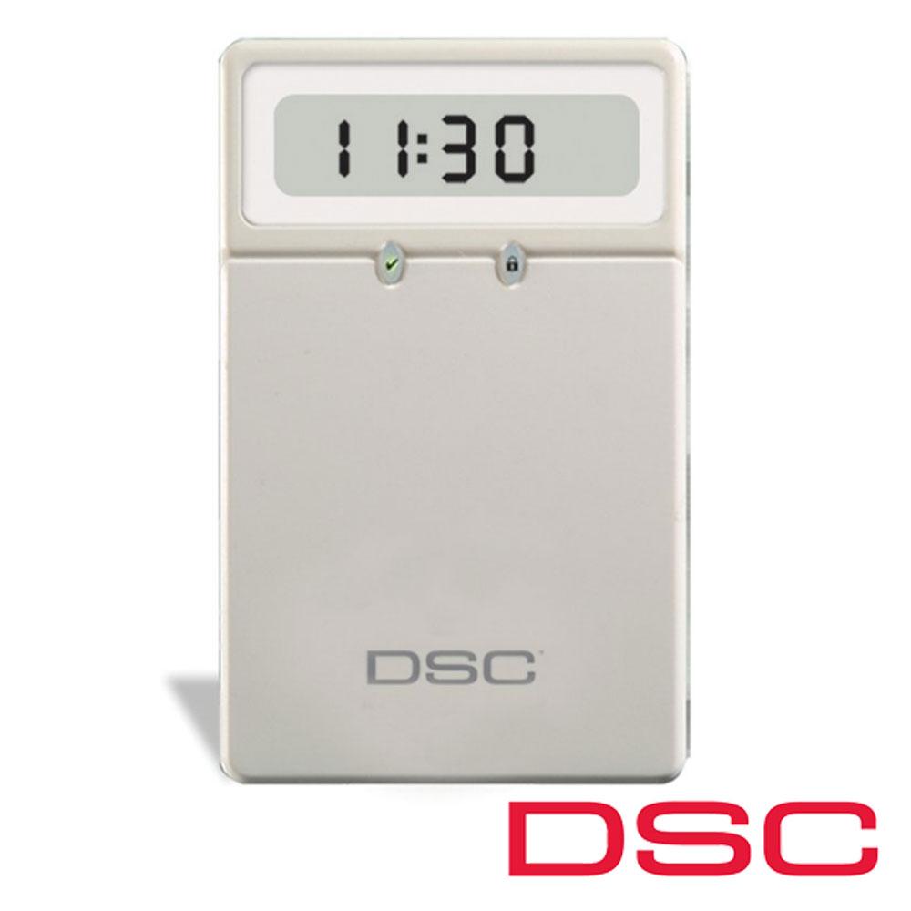 Tastatura LCD 64 zone, iconuri, 8 partitii - DSC LCD5511