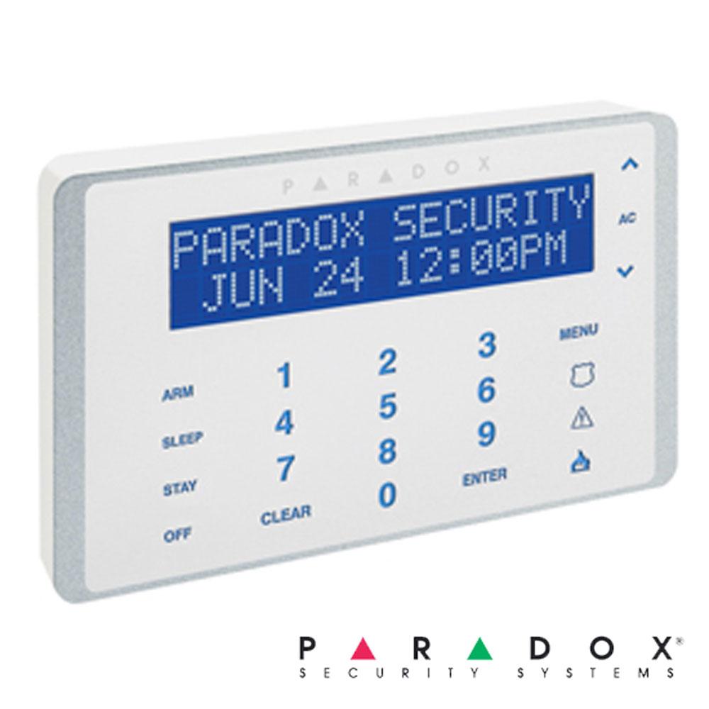 Tastatura LCD, taste capacitive, monocrom EVO - Paradox K656