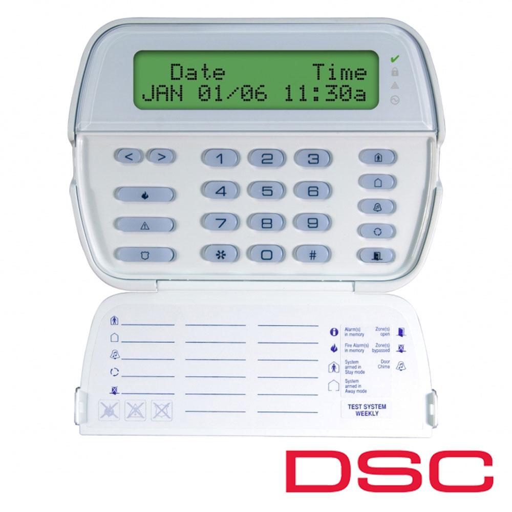 Tastatura LCD pe fir, maxim, alfanumerica, 64 zone - DSC PK 5500