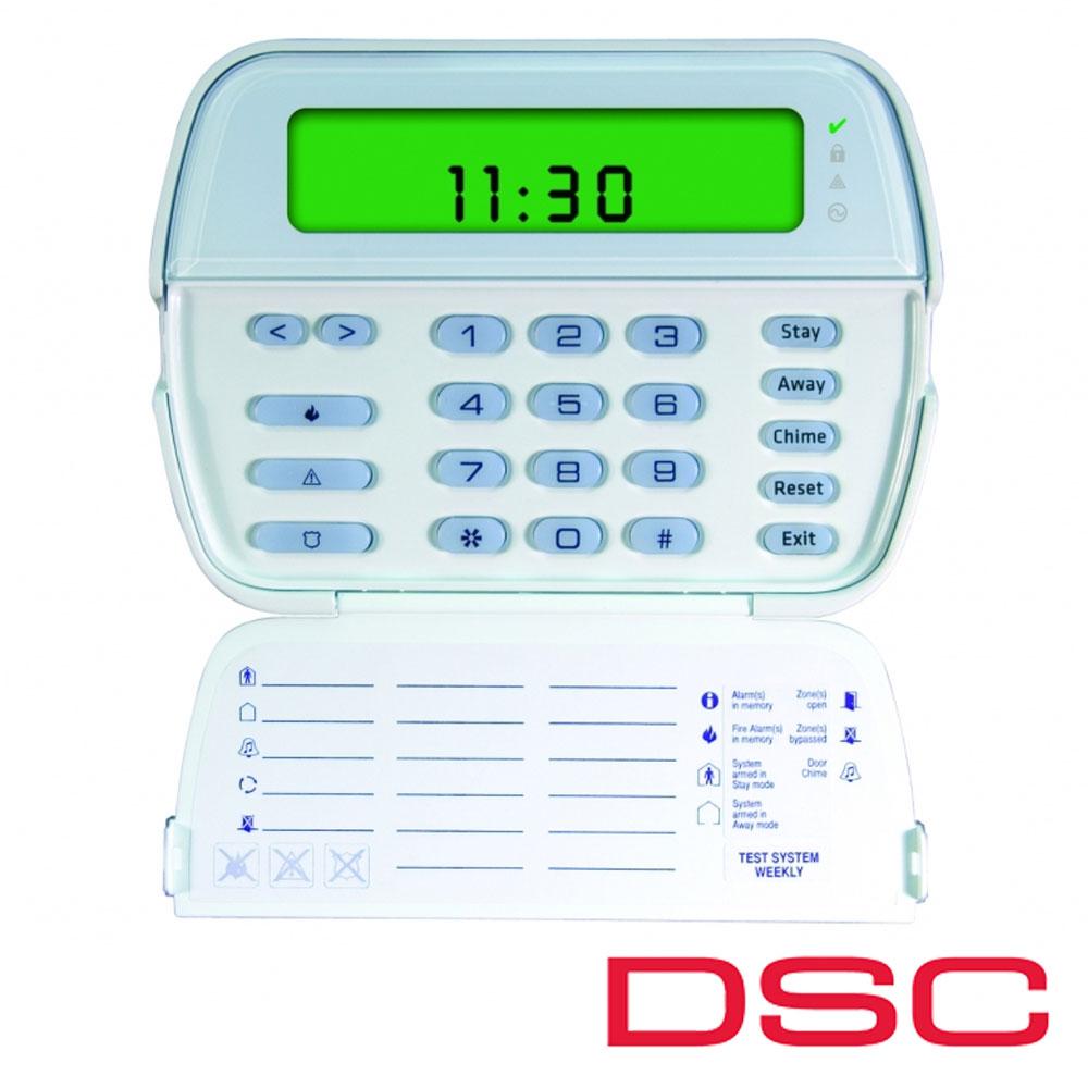 Tastatura LCD 64 zone - DSC PK 5501