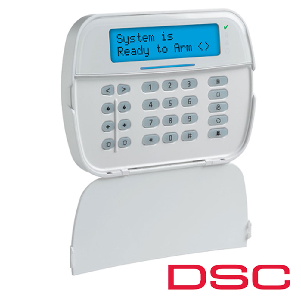 Tastatura LCD cu caractere alfanumerice, 128 zone - DSC NEO-HS2LCD