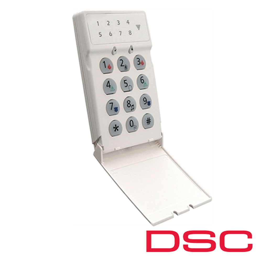 Tastatura LED, 8 zone pe fir - DSC LED5511Z