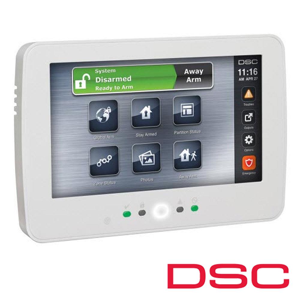 Tastatura Touch Screen, 7 inch, Slot Card, Rama Foto, pentru seria NEO - DSC NEO HS2TCHP