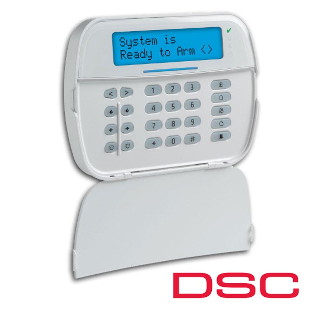 Tastatura LCD, pe fir, modul Wireless inclus, maxim 128 zone - DSC NEO-HS2LCDRF