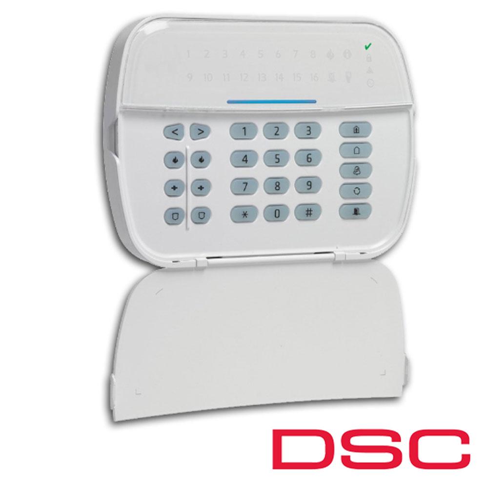 Tastatura LED, 16 zone, pe fir - DSC NEO-HS2LED