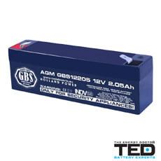 Acumulator 12V2.05Ah - TED Electric GBS12205F1