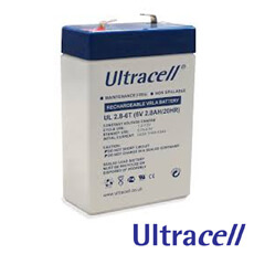 Acumulator 6V2.8Ah - Ultracell UL2.8-6T