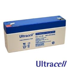 Acumulator 6V3.4Ah - Ultracell UL3.4-6
