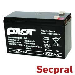Acumulator capsulat 7 AH/12V - Secpral PL-7AH