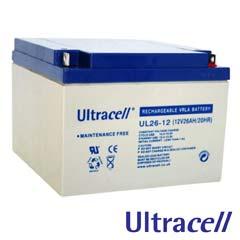 Acumulatori fara intretinere 12V DC 26AH - Ultracell UL26-12