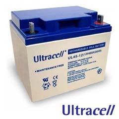 Acumulatori fara intretinere 12V DC 45AH - Ultracell UL45-12