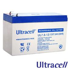 Acumulatori fara intretinere 12V DC 7AH - Ultracell UL7-12
