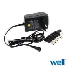 Alimentator universal in comutatie 12V DC 1.5A - Well 1500MA/6T-WL