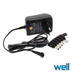 Alimentator universal in comutatie 12V DC 1A - Well 1000MA/6T-WL