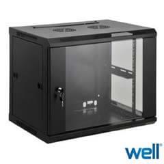 Cabinet Metalic - Rack 9u - Vitacom CAB/WM/9U-/BK/FP-INTL