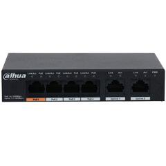 Switch-uri POE pentru instalare Accesorii Dahua LR2110-8ET-120