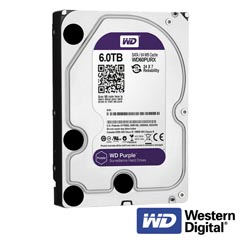 Hard Disk 6TB - Western Digital Surveillance-6000GB