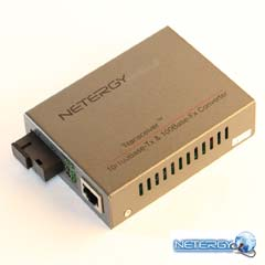 Media convertor - Netergy McU220.1Fc.1FfB20
