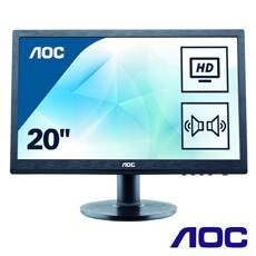 Monitor LED - Full HD - 19.5 inch - AOC M2060SWD2