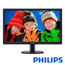 Monitor LED - Full HD - 23.6 inch - PHILIPS 243V5LHSB/00