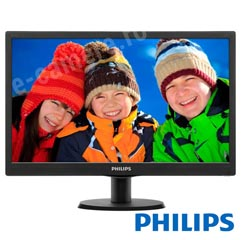 Monitor LED - HD - 19.5 inch - PHILIPS 19.5-LED-HD