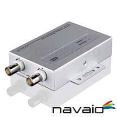 Video Balun activ <br /><strong>Navaio NAV-A1002RHD</strong>