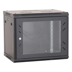 Cabinet metalic, 18 Unitati 600x600, Negru, Neasamblat - OEM ASY-18U-6060P