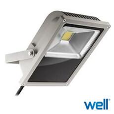 Proiector cu senzor 3700lm, lumina calda, 3000K - Well LEDW-50-GBAY