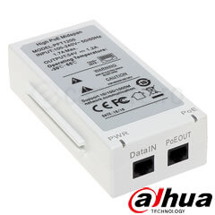 Injector POE 1 canal <br /><strong>Dahua PFT-1200</strong>