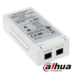 Injector POE 1 canal - Dahua PFT1200