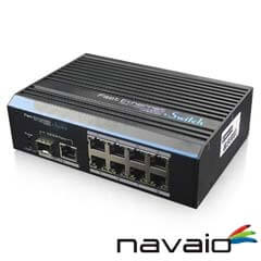 Switch-uri cu module optice <br /><strong>Navaio NAV-NS108</strong>