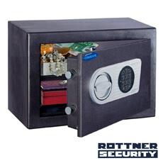 Seif certificat antiefracţie Toscana 26 inchidere electronica - Rottner T05546