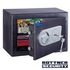Seif certificat antiefracţie Toscana 26 inchidere cheie - Rottner T05545
