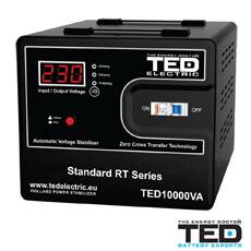 Stabilizator de tensiune 10000VA, 6000W - TED Electric TED10K