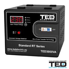 Stabilizatoare tensiune pentru instalare Accesorii TED Electric TED500