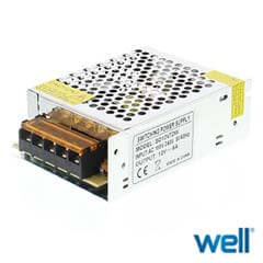 Sursa alimentare in comutatie 12V DC 6A - Well 12V72W-WL
