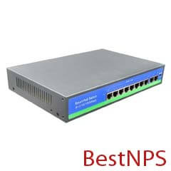 Switch PoE BestNPS 16 + 2 UP Link + 2 SFP porturi - BestNPS NPS1622GH