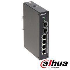 Switch ePOE industrial, L2, 4 porturi - Dahua PFL2106-4ET-96