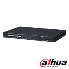 Switch fibra 16 porturi, 2 porturi combo - Dahua S3000-16X