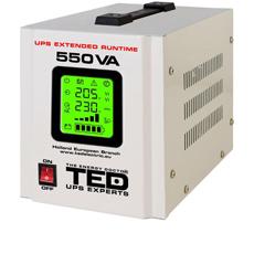 UPS centrala termica 550VA, 300W, Display LED - TED Electric 550VA-LED