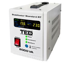 Stabilizator tensiune monofazat, 3000VA / 1800W - TED Electric RT 3000VA