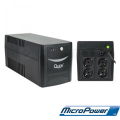 UPS Quer MicroPower 1000VA 600W - PSS KOM0553