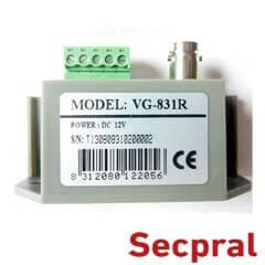 Video Balun activ - Secpral VG-831R