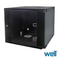 Cabinet Metalic - Rack 6U - Vitacom CAB/WM-19/6U-37X60X45/BK/AS-INTL