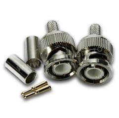 Mufa micro BNC pentru cablu microcoaxial - PSS BNC-RG174