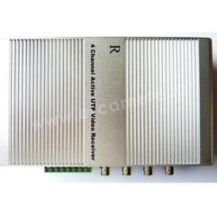 Video Balun receptor activ 4 canale video <br /><strong>Secpral VG-411R</strong>