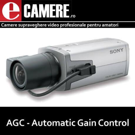 Functia AGC. Ce insemna functia AGC pentru o camera de supraveghere video?