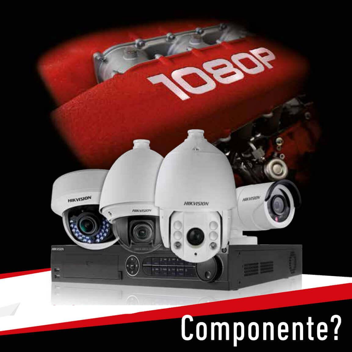 Ce contine un sistem de supraveghere video?