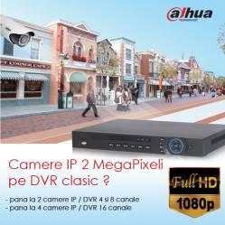 DVR-urile DAHUA din seria 5000 suporta acum si camere IP