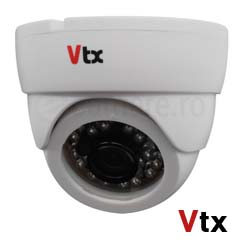Camera AHD 1MP, Interior, IR 20m, lentila 3.6 mm - VTX 1219DIR